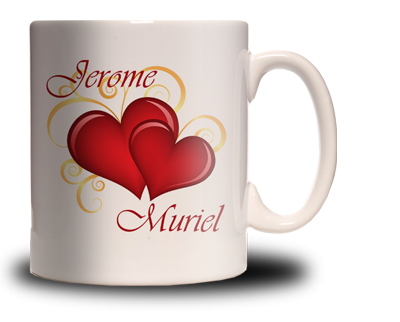 mug saint valentin personnalis cadeau personnalis et. Black Bedroom Furniture Sets. Home Design Ideas